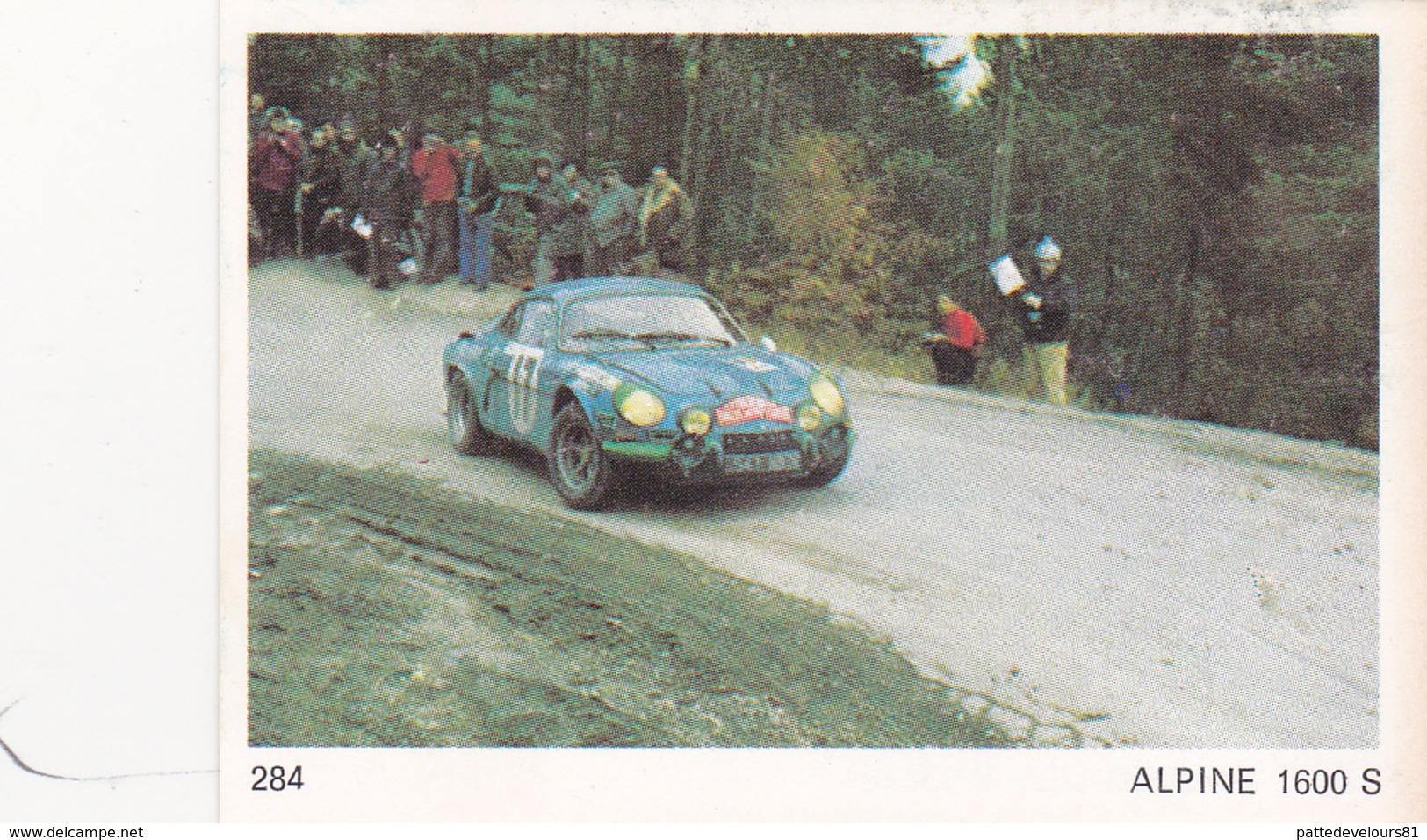 IMAGE 5 X 7,5  Sport Automobile Voiture De Rallye Sport Mécanique ALPINE 1600 S - Vieux Papiers
