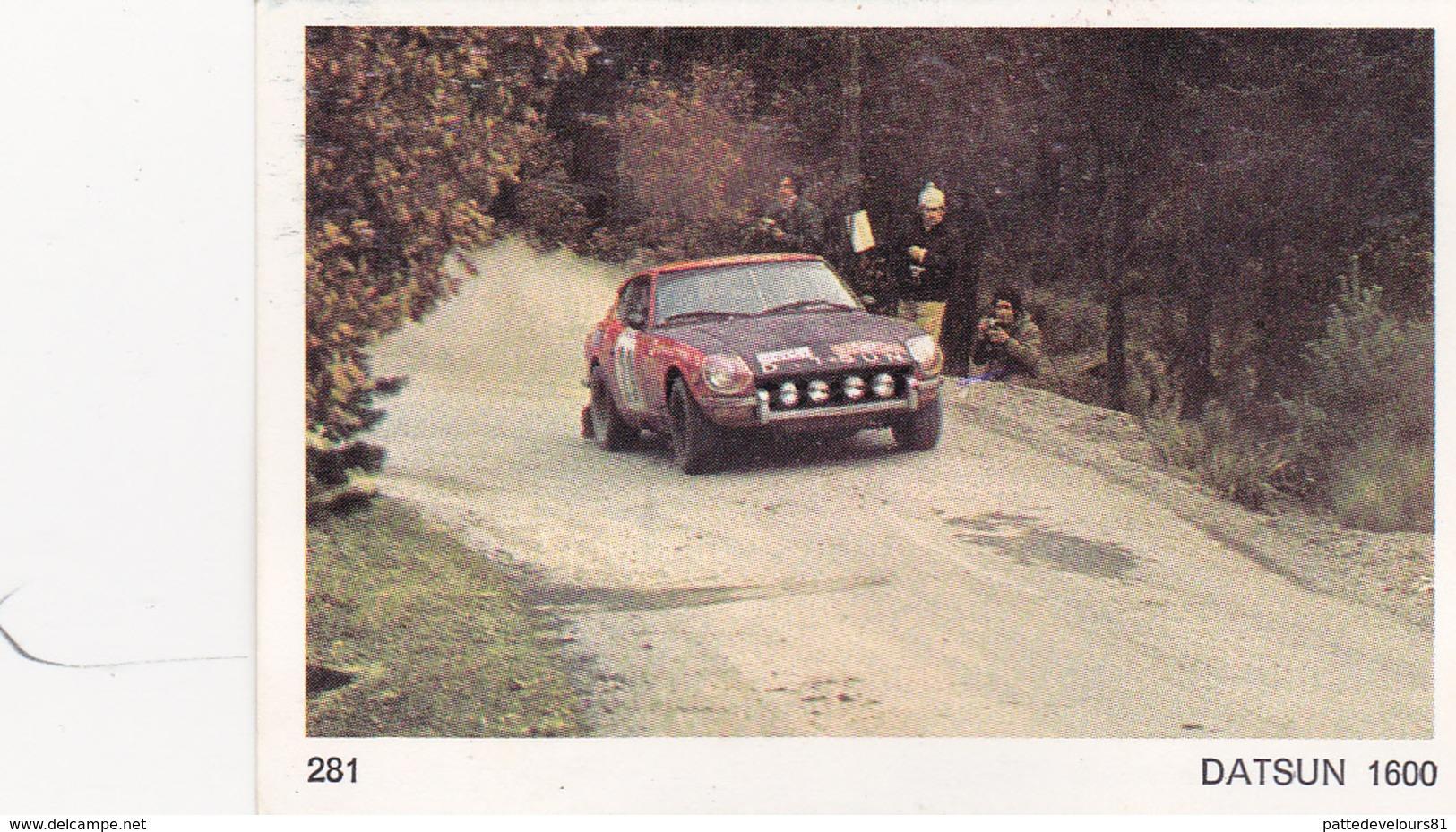 IMAGE 5 X 7,5  Sport Automobile Voiture De Rallye Sport Mécanique DATSUN 1600 - Vieux Papiers