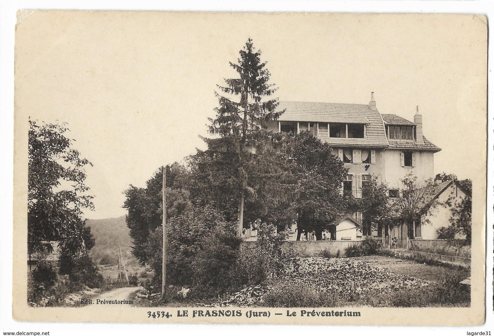 000448 Le Frasnois Le Préventorium (angle Haut Gauche Abimé) - France