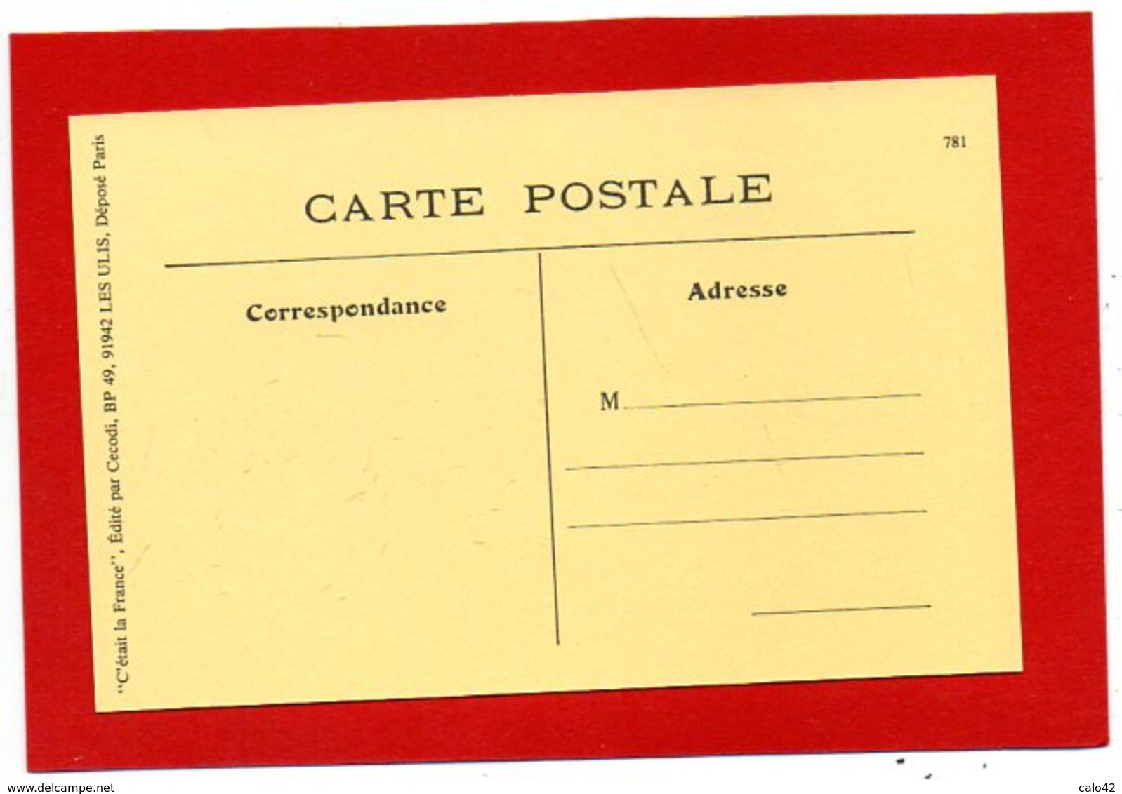 U1//  PARIS Halles Centrales Le Père La Serrure   / NON  écrite C'ETAIT LA FRANCE Ed CECODI Lire Description - Petits Métiers à Paris
