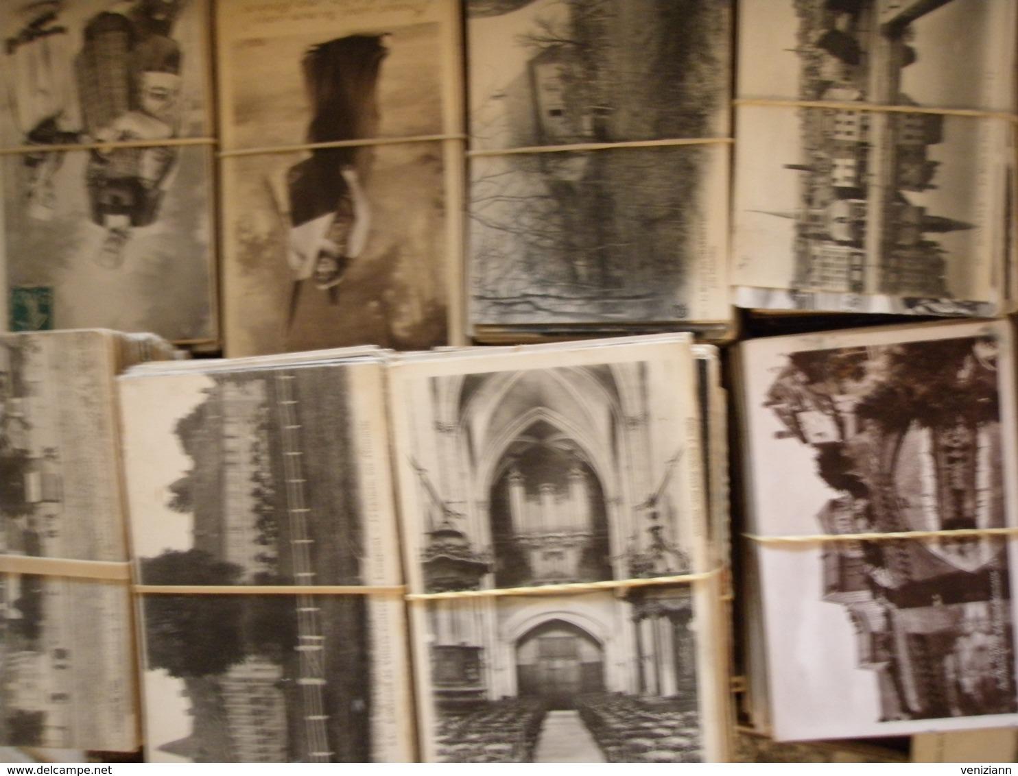 ENORME LOT De + 10.700 CPA Type Drouille Et Petites Cartes - Cartes Postales