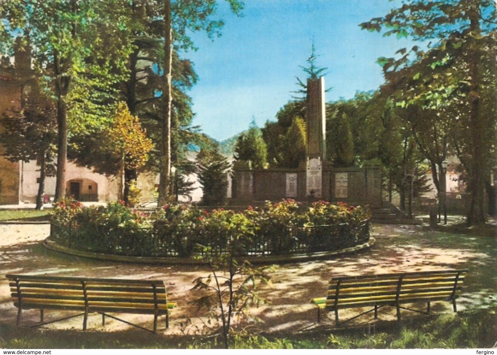 101/FG/18 - SAVONA - MILLESIMO: Giardini Pubblici - Savona