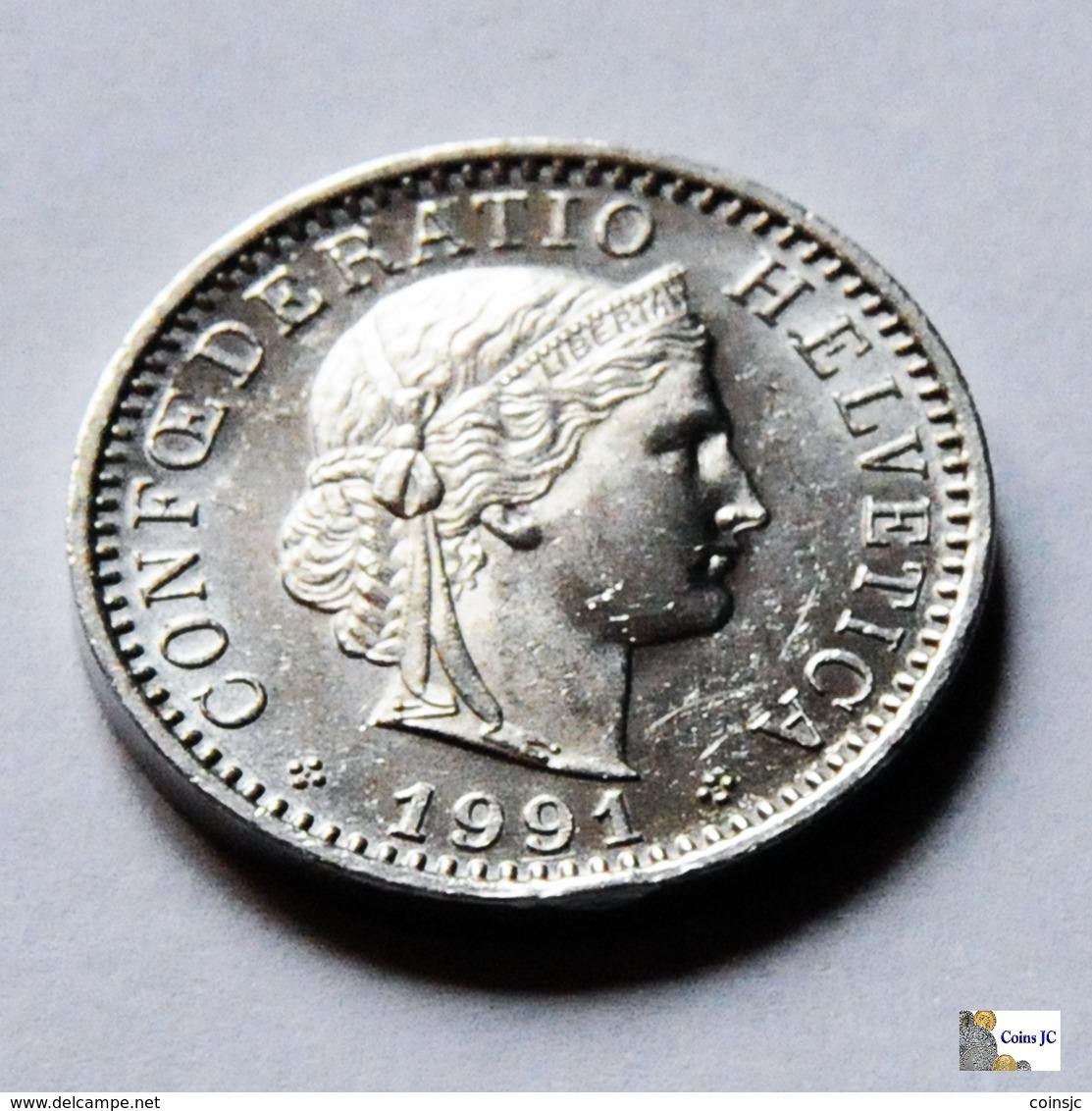 Suiza - 20 Rappen - 1991 - Suiza