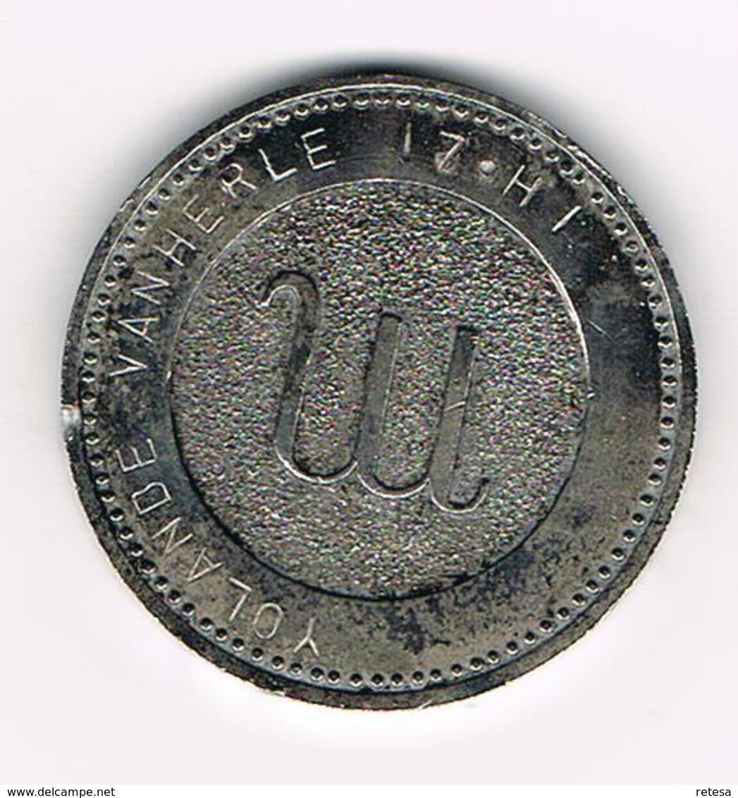 &-   PENNING  SCORPION 24 OCTOBRE - 22 NOVEMBRE - YOLANDE VAN HERLE 17.HI - Pièces écrasées (Elongated Coins)