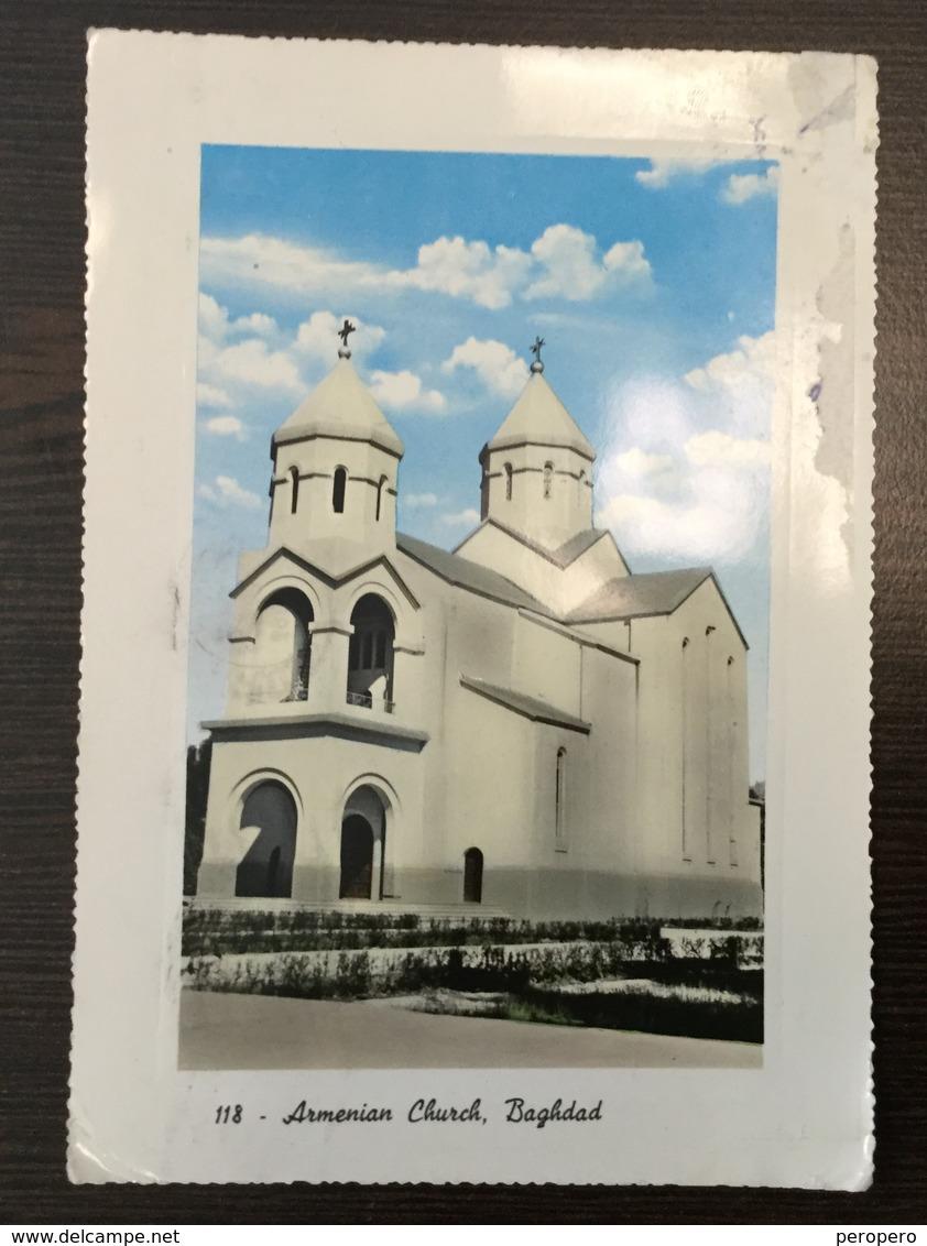 AK  IRAK  IRAQ  BAGHDAD   ARMENIAN CHURCH  1962 - Iraq