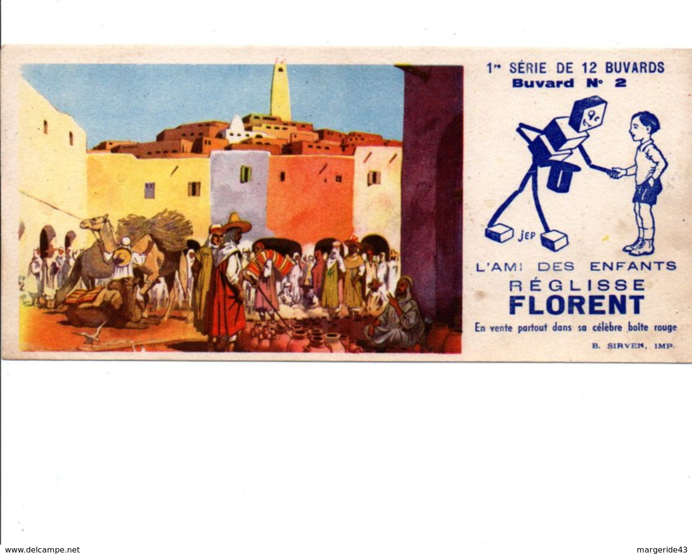 BUVARD REGLISSE FLORENT - Blotters