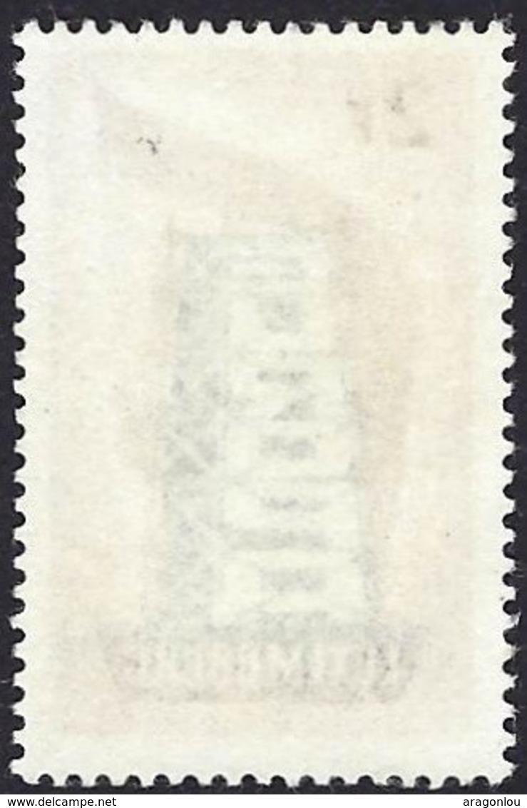 1956 Timbre Europa 2F. Brun/gris/noirâtre/noir, Neuf, Gomme, Sans Charnière Michel:555 (2scans) - Luxembourg