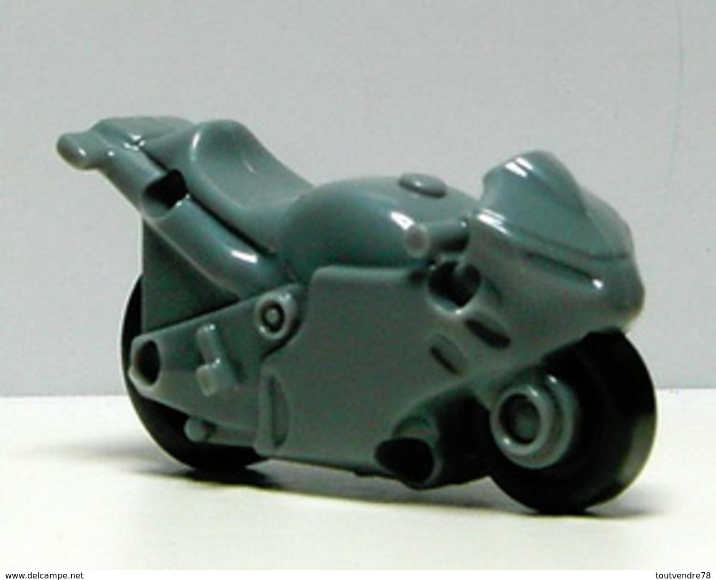 K359 / Kinder Série Motos / Moto Grise / Ref: FT056D - Monoblocs
