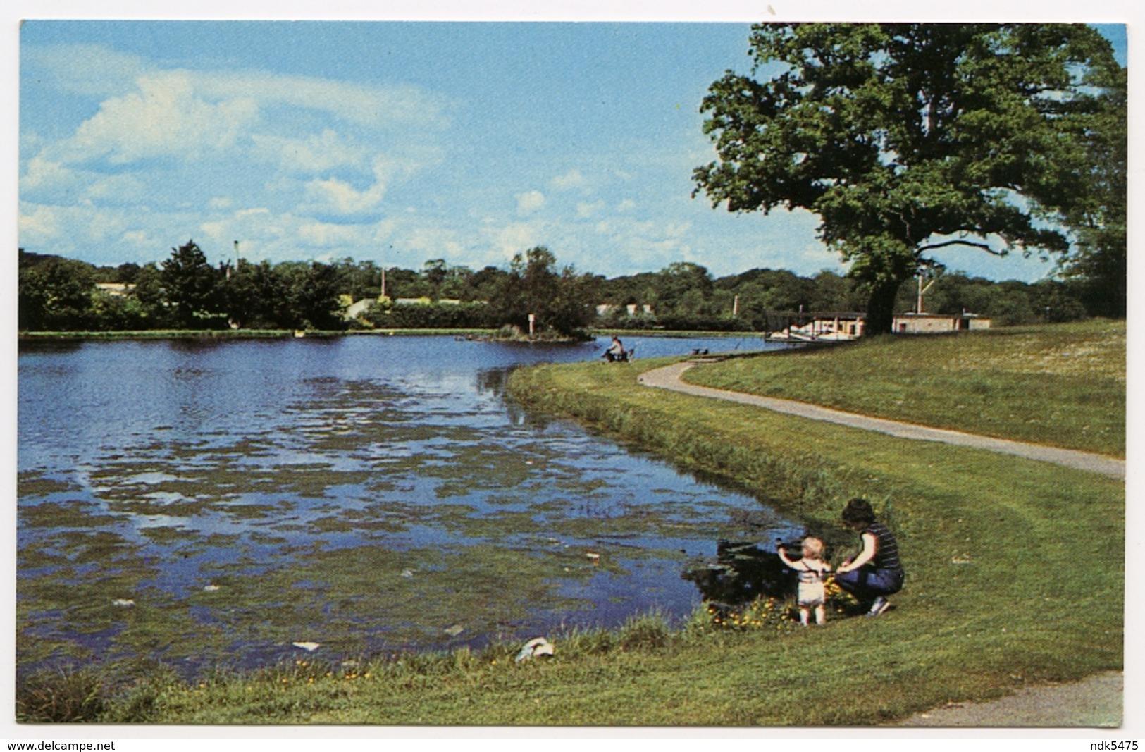 CORBY : THE BOATING LAKE - Northamptonshire