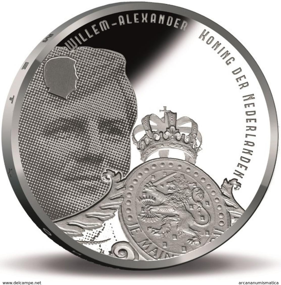 "HOLANDA  5€ 2.017  2017  PLATA/SILVER ""Defence Line Of Amsterdam ""  SC/UNC T-DL-12.213 - Paises Bajos"