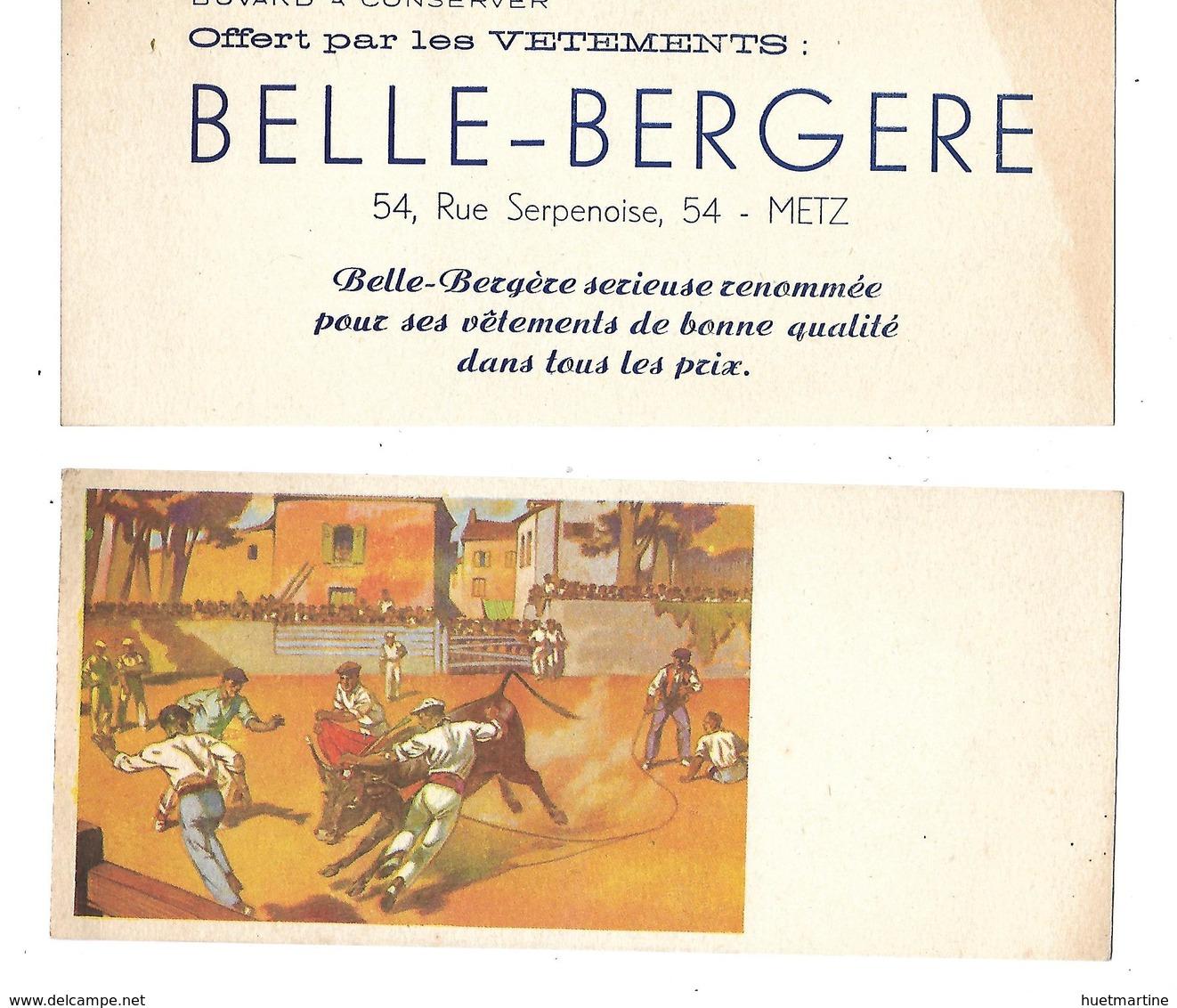 BUVARD    BELLE  BERGERE  METZ - Blotters