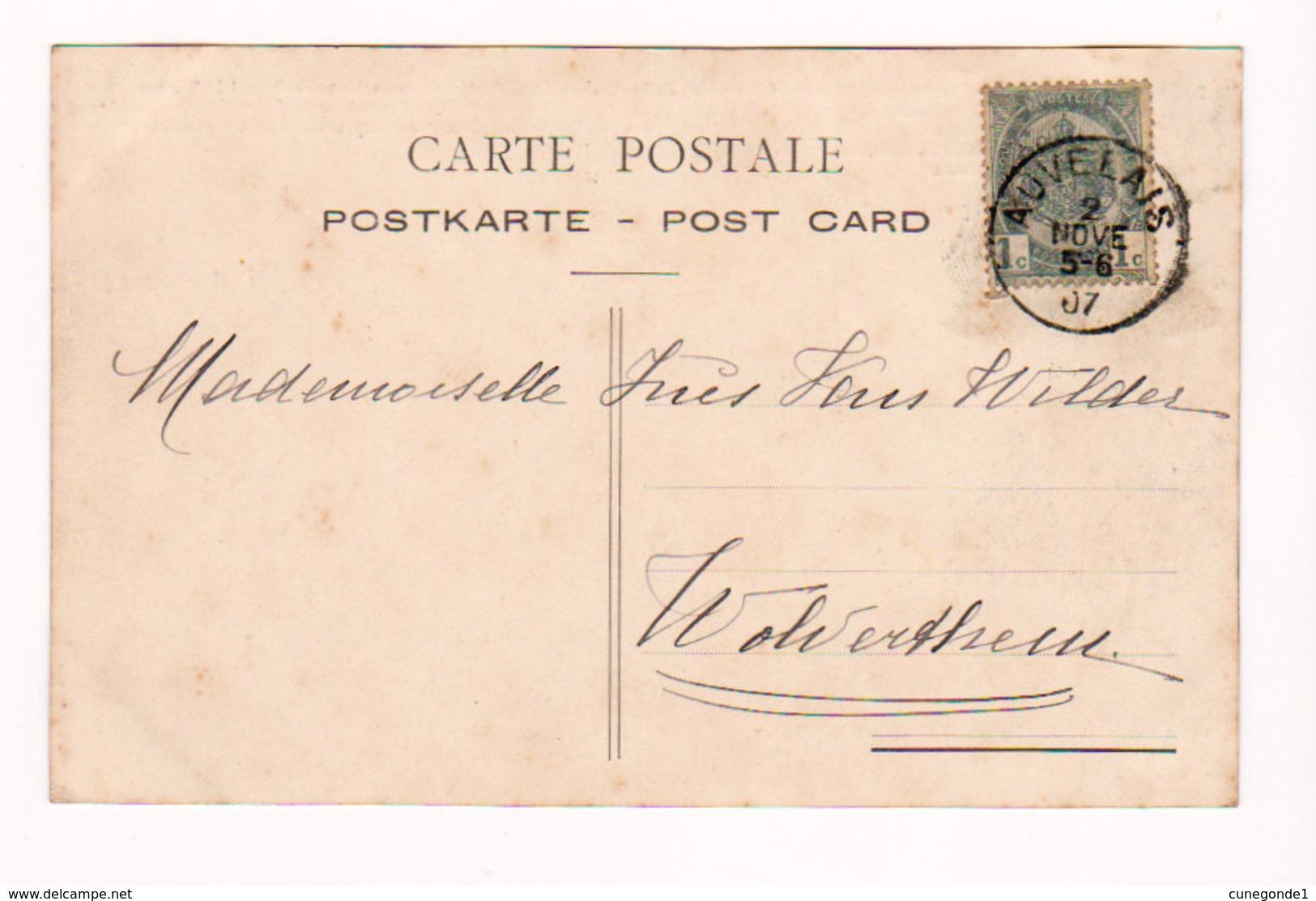 CPA AUVELAIS - Usine De St-Roch - Quai De Déchargement Et Prise D'eau à La Sambre - Circ. En 1907 - Sambreville
