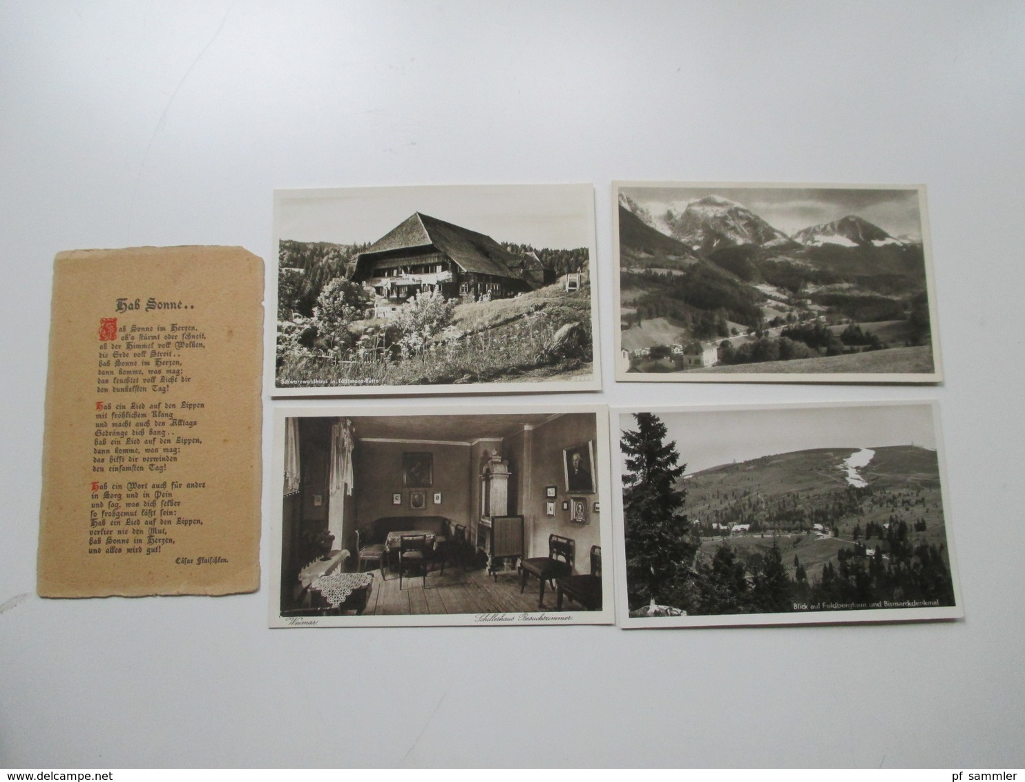 AK Deutschland / Etwas Europa Ca. 1909 - 50er Jahre Insgesamt 135 Karten / Ein Paar Fotos. Stöberposten!! - 100 - 499 Karten