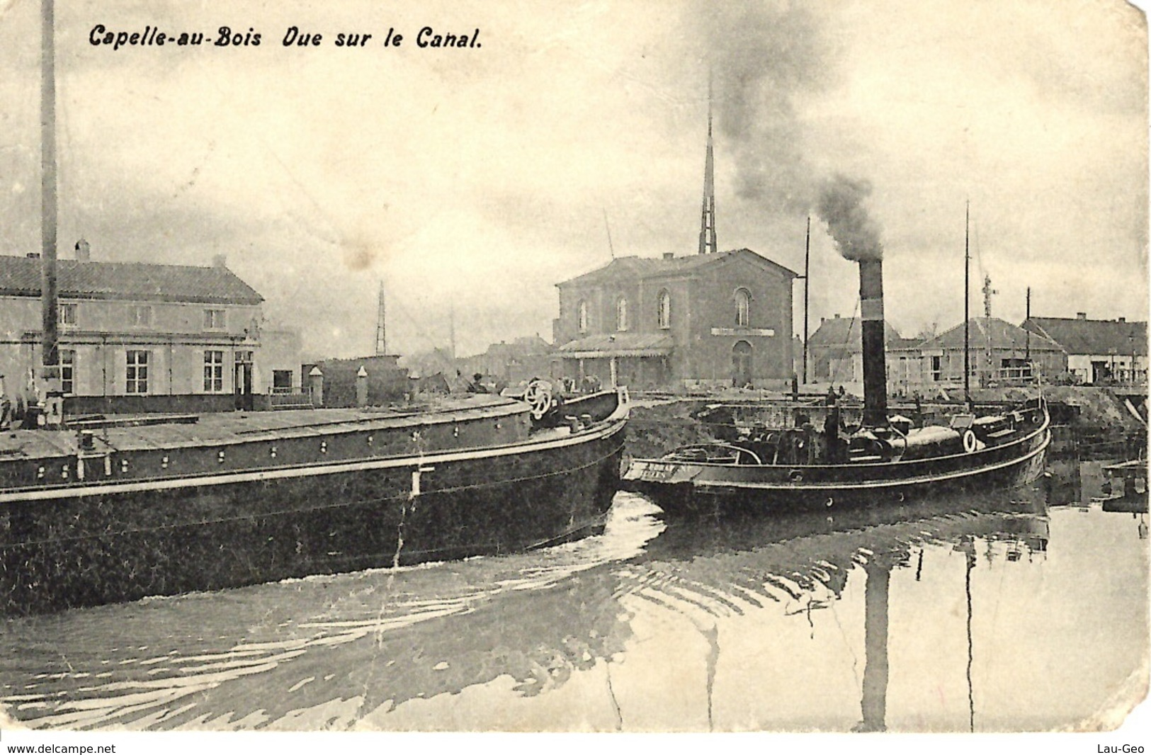 Cappellenbosch - Capelle-au-Bois. (Kapelle-op-den-Bos).  Vue Sur Le Canal. - Kapelle-op-den-Bos