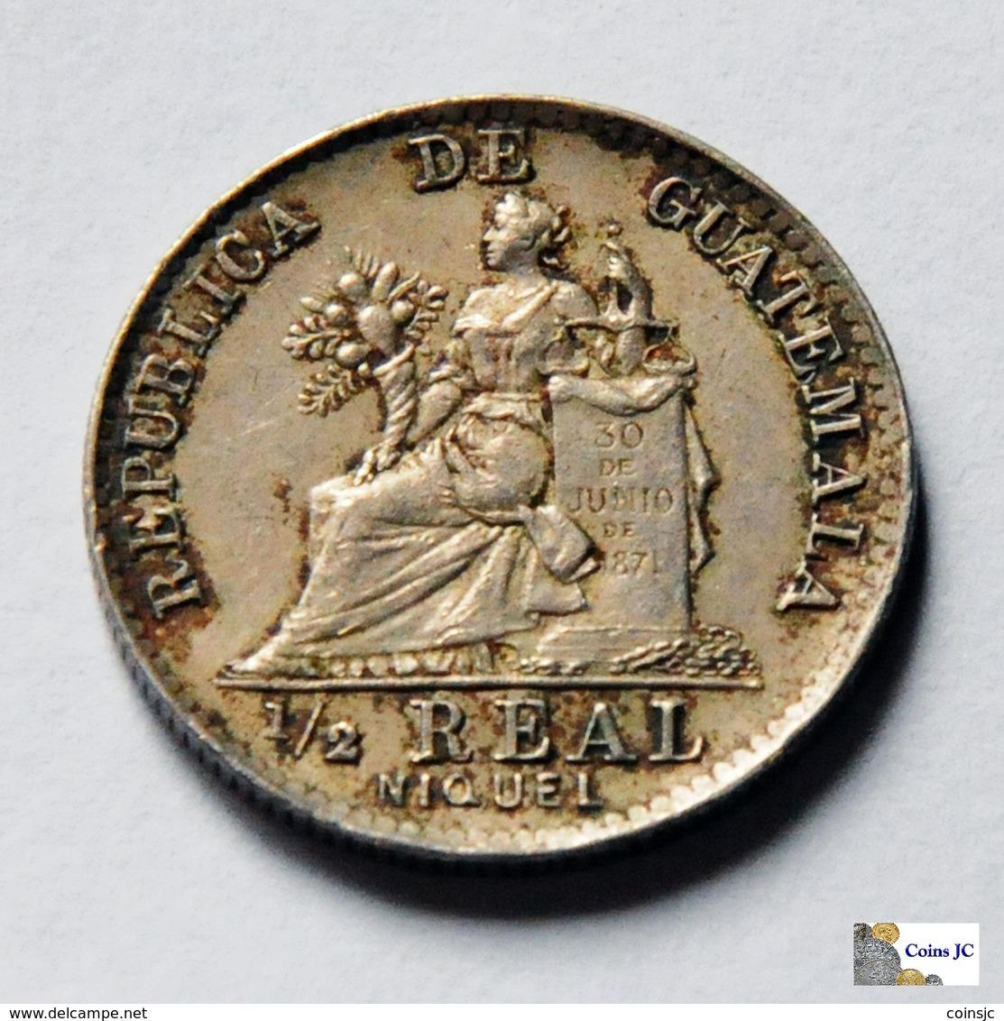 Guatemala - 1/2 Real - 1900 - Guatemala