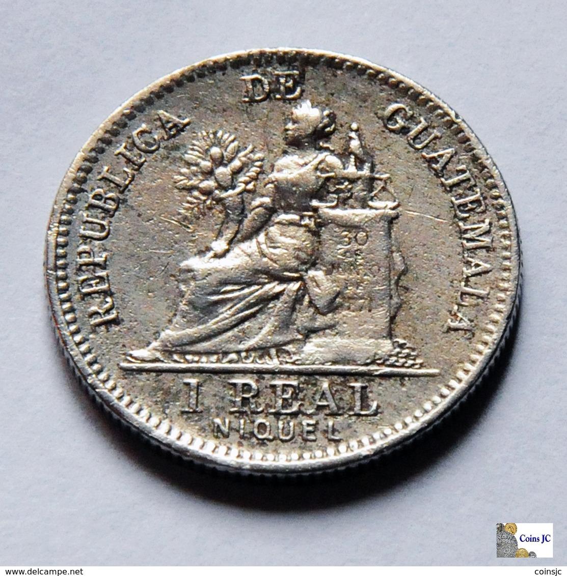 Guatemala - 1 Real - 1900 - Guatemala