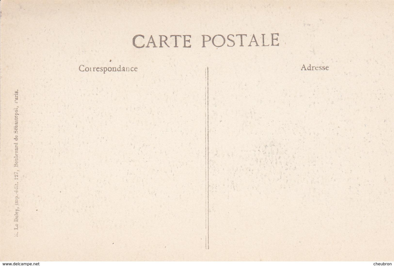 75. PARIS. GUERRE 14-18. LES ZEPPELINS SUR PARIS. EFFONDREMENT D'UNE MARQUISE - War 1914-18