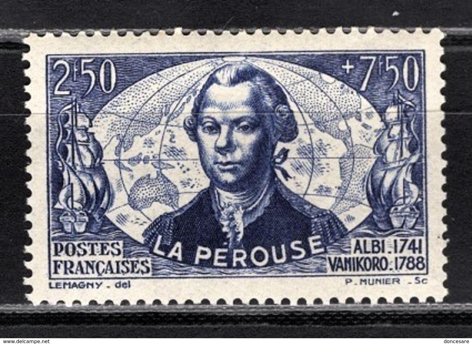 FRANCE 1942 -  Y.T. N° 541 - NEUF** - France