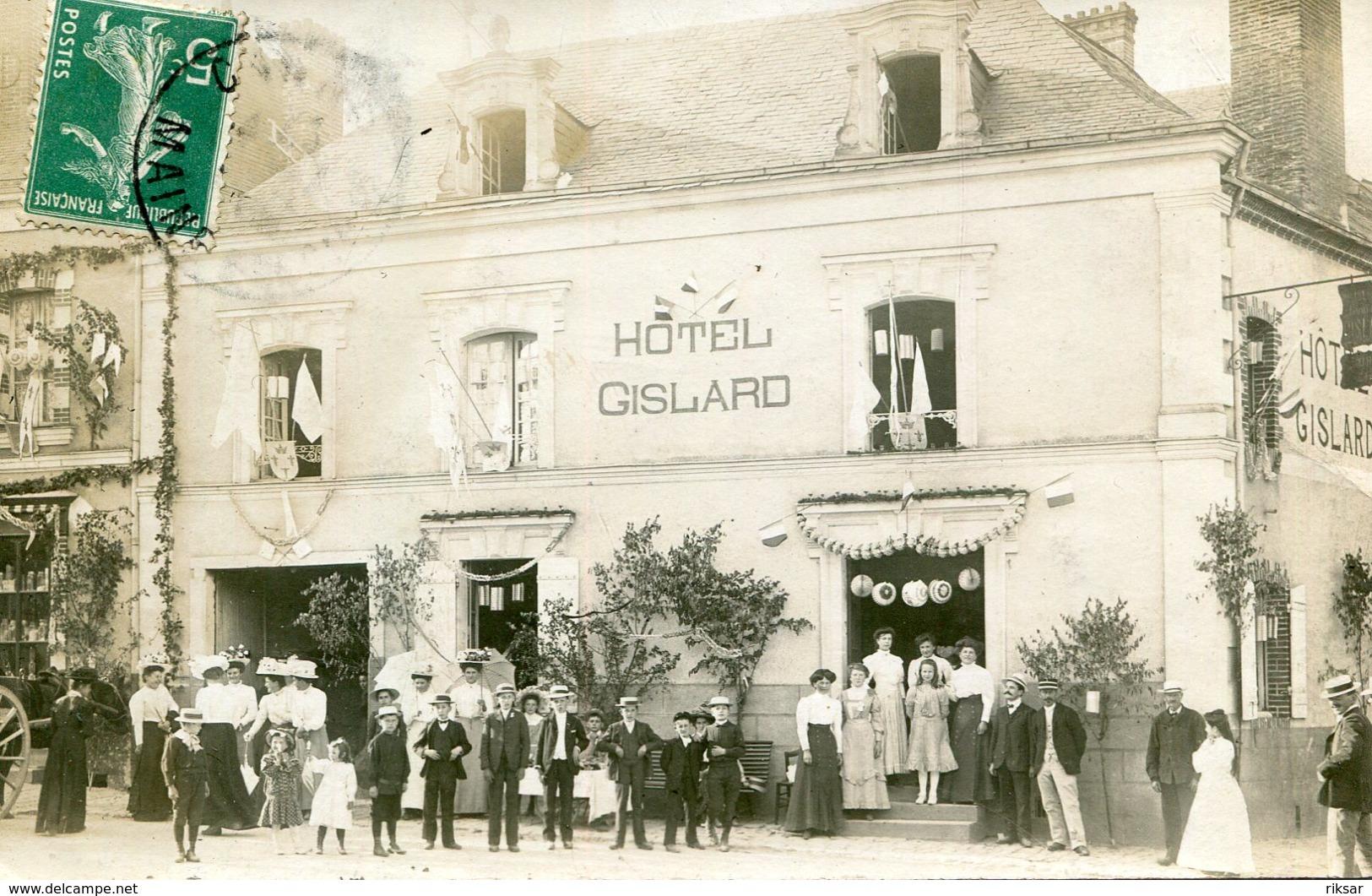 CANDE(HOTEL) CARTE PHOTO - France