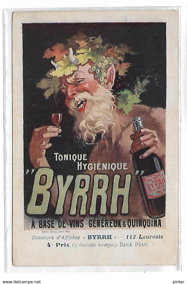PUBLICITE - BYRRH Tonique Hygiénique - Werbepostkarten