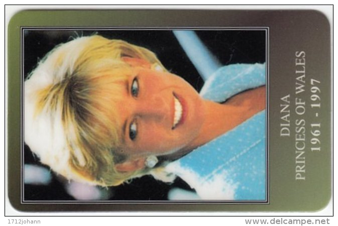 GREAT BRITAIN D-737 Prepaid - Lady Diana, Princess Of Wales - FAKE - Ver. Königreich