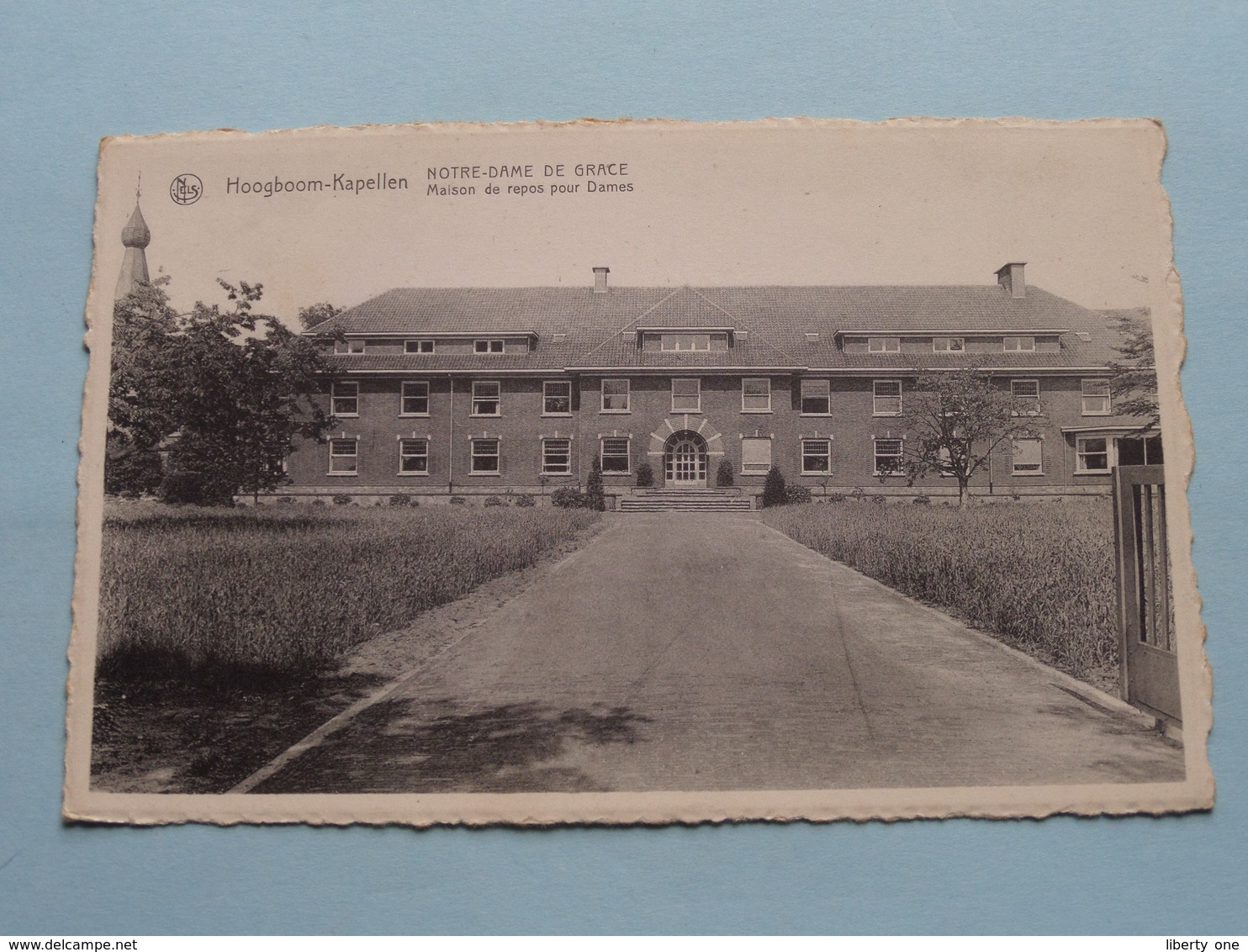 HOOGBOOM-Kapellen : NOTRE-DAME De GRACE Maison De Repos Pour Dames ( J. Rohart ) Anno 19?? ( Zie Foto's ) ! - Kapellen