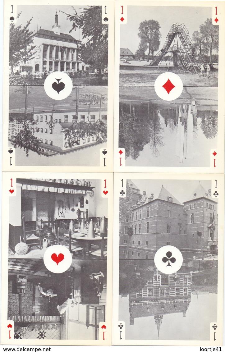 PK - Kaarten 4 Azen - Turnhout Centrum Van De Speelkaart - Cartes à Jouer
