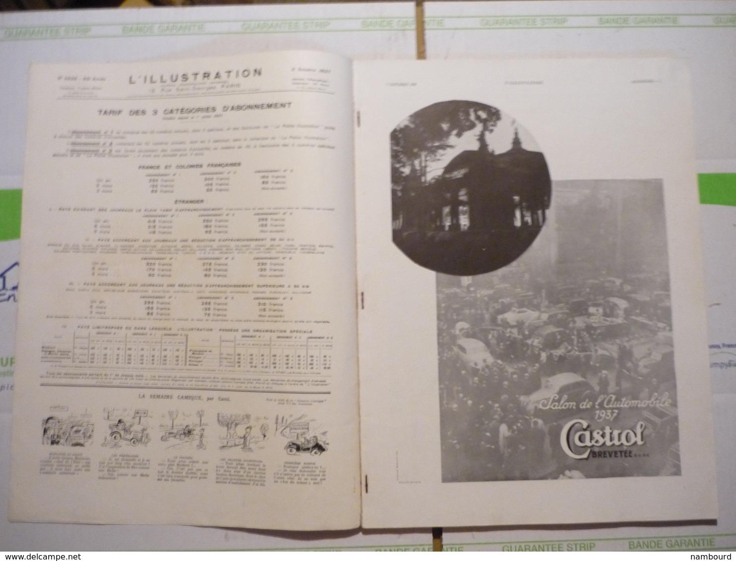 L'Illustration Numéro Spécial Le Président De La République En Grande Bretagne 1-er Avril 1939 - 1900 - 1949