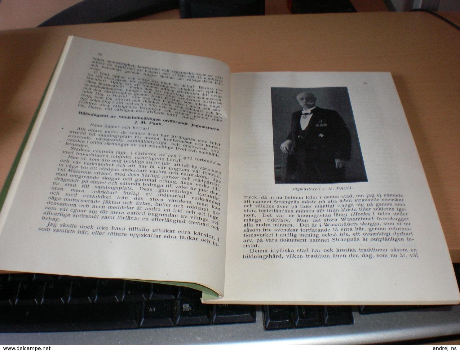 Centralforbundet For Nykterhetsundervisning 124 De Allmanna Upplysningskurs  1925 Sala 1926 J M Pauli Jagmastern - Books, Magazines, Comics