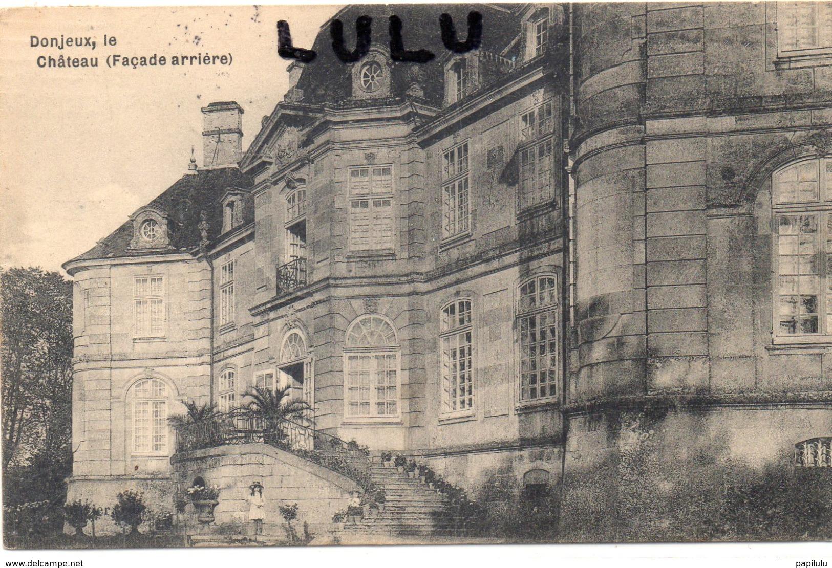 DEPT 52 : édit. ? : Donjeux Facade Arrière Du Chateau - Frankreich