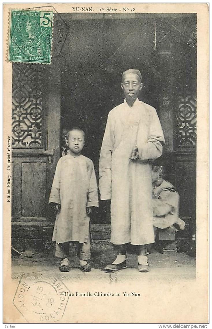 CHINE , YU-NAN , Famille Chinoise , * 277 84 - Chine