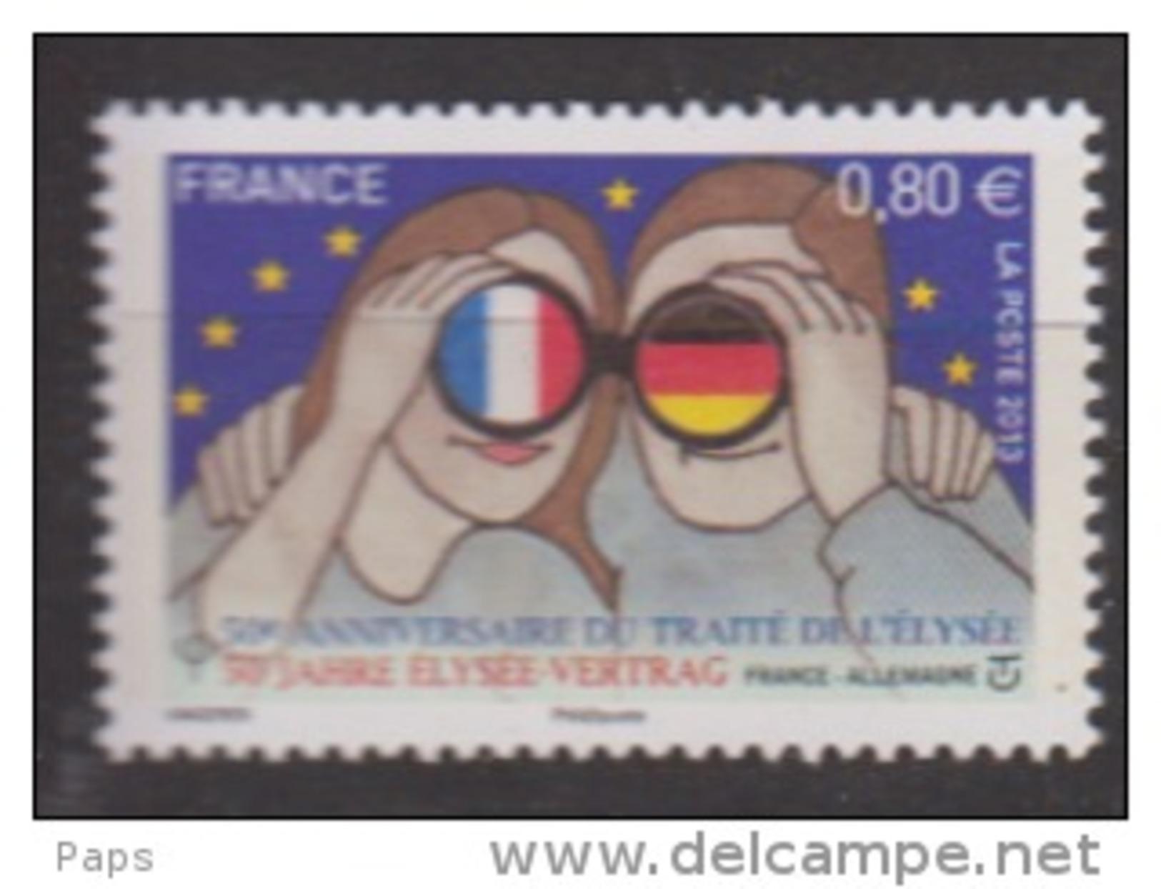 2013-N°4711** TRAITE DE L'ELYSEE - Unused Stamps