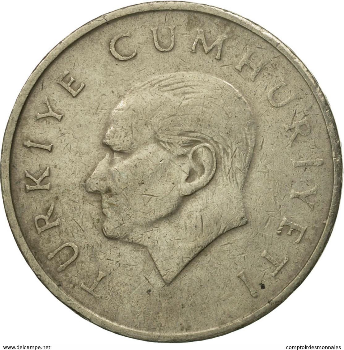 Monnaie, Turquie, 25000 Lira, 25 Bin Lira, 1995, TB+, Copper-Nickel-Zinc - Turquie