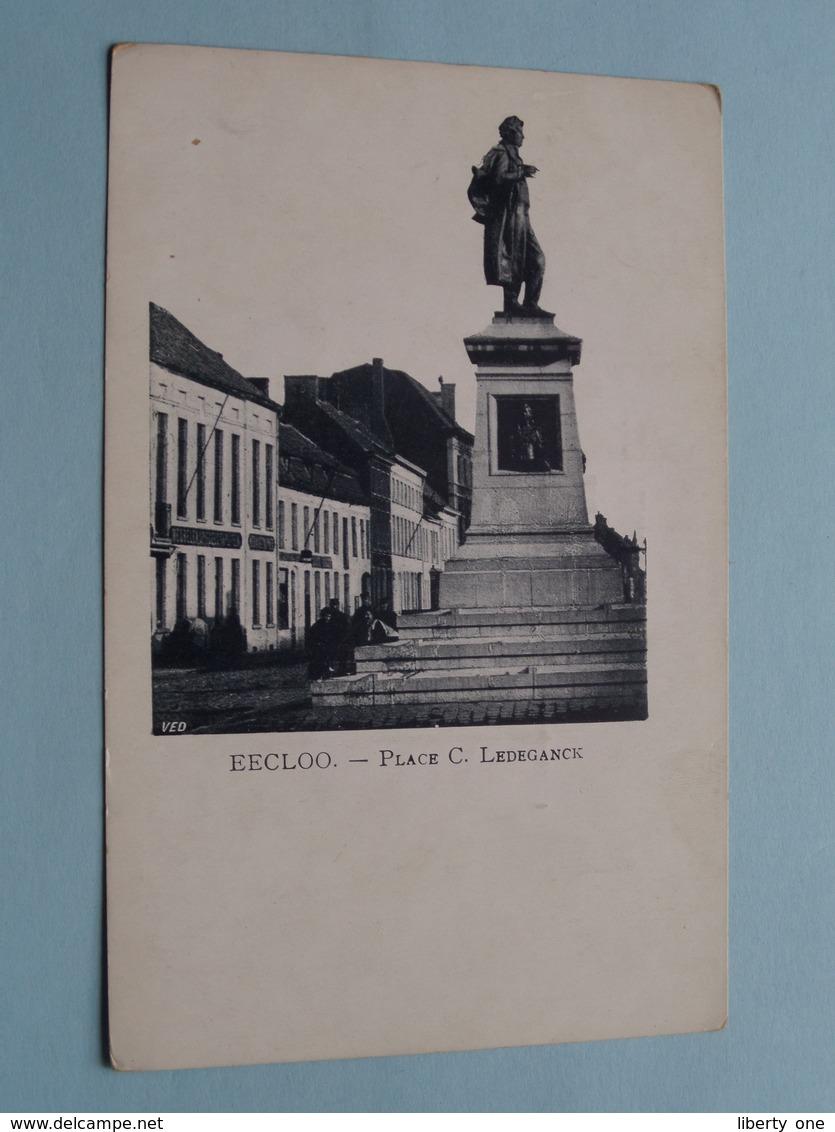 Place C. LEDEGANCK - EECLOO () Anno 19?? ( Zie Foto's ) ! - Eeklo