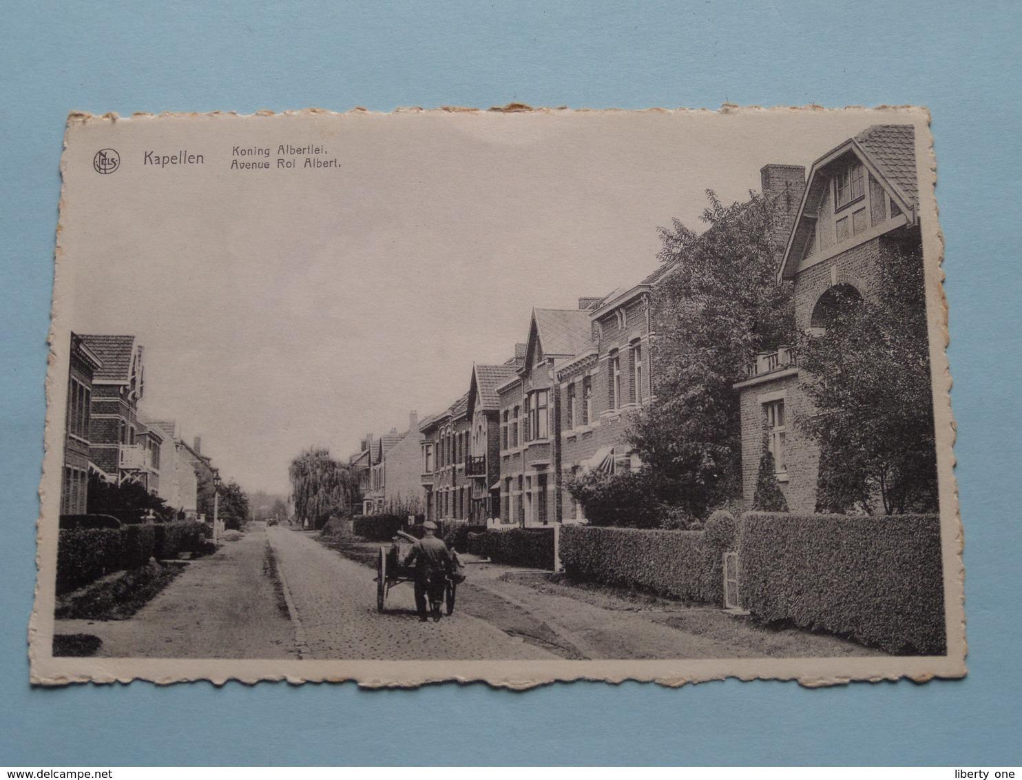 Koning ALBERTLEI Avenue ROI Albert ( J. Rohart ) Anno 19?? ( Zie Foto's ) ! - Kapellen