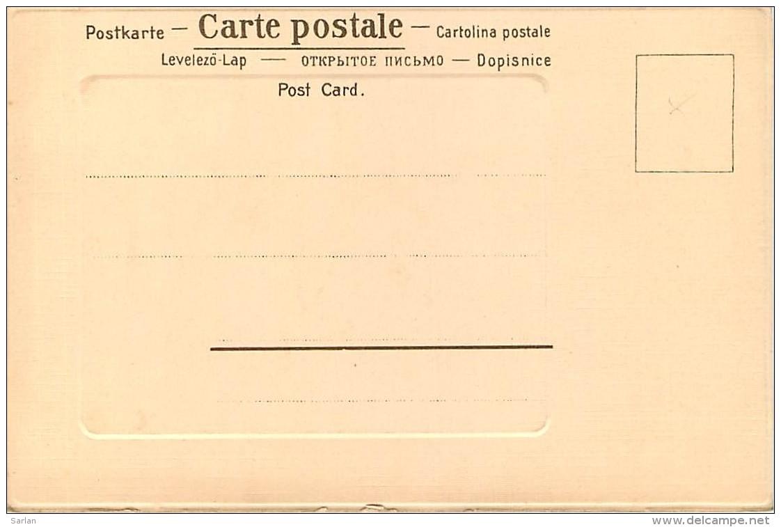 CHASSE , Carte Gaufrée , Renard Et Canard , * 314 72 - Chasse