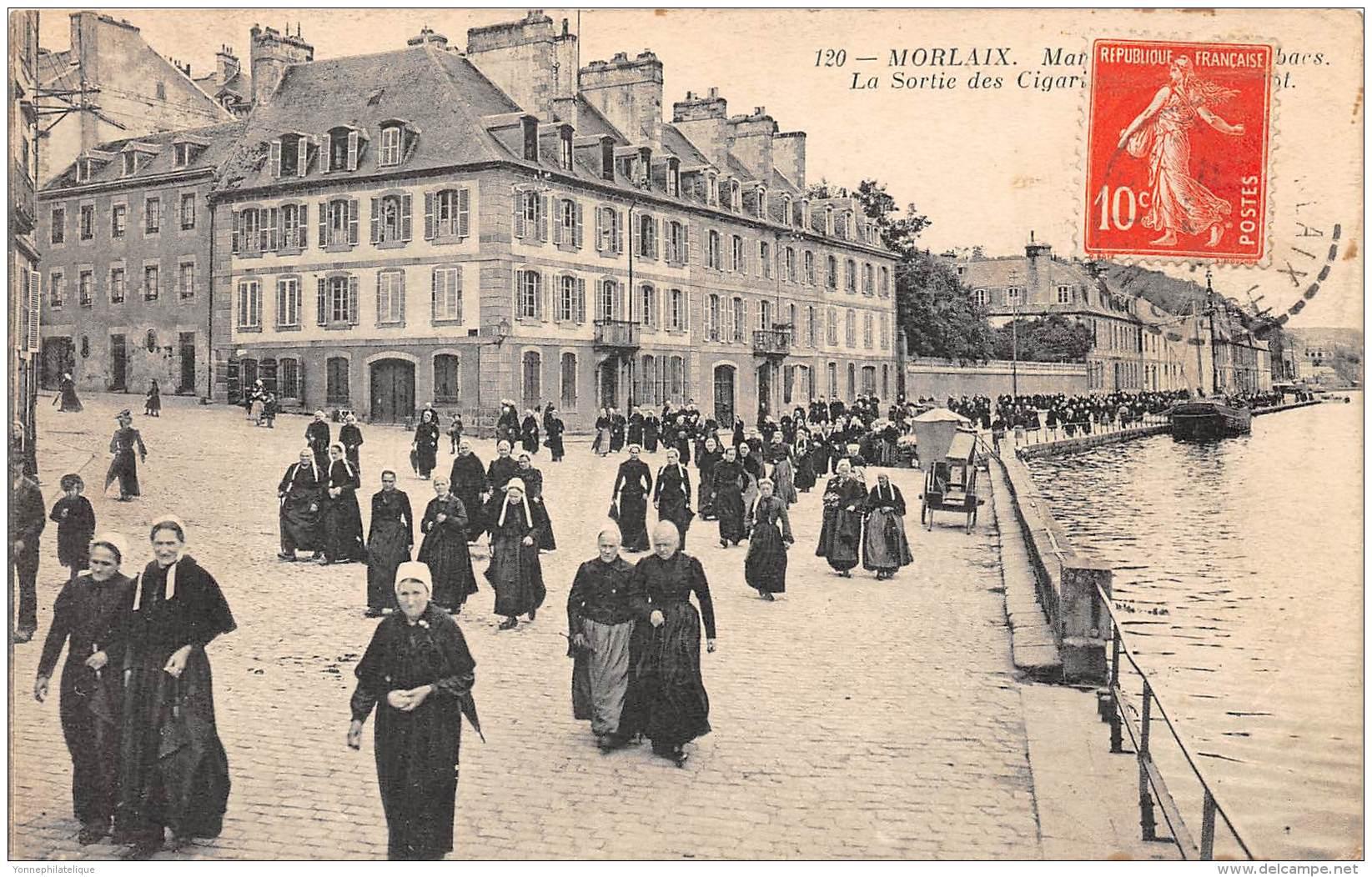 29 - FINISTERE / Morlaix - B293100 - La Sortie Des Cigarières - Morlaix