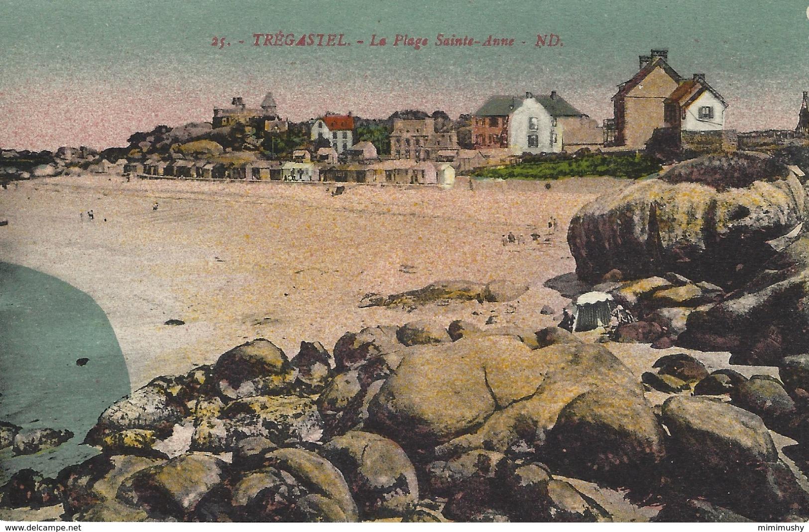 22 - Trégastel - La Plage Sainte-Anne - Trégastel