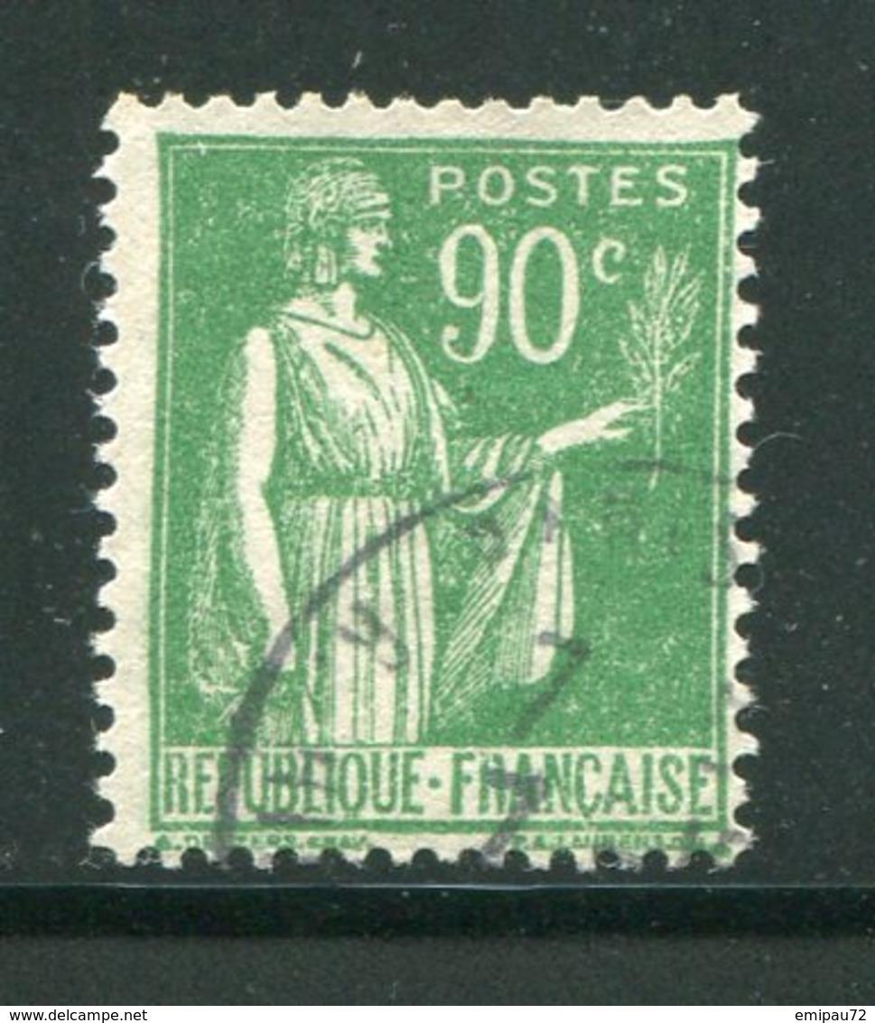 FRANCE- Y&T N°367- Oblitéré - 1932-39 Paix