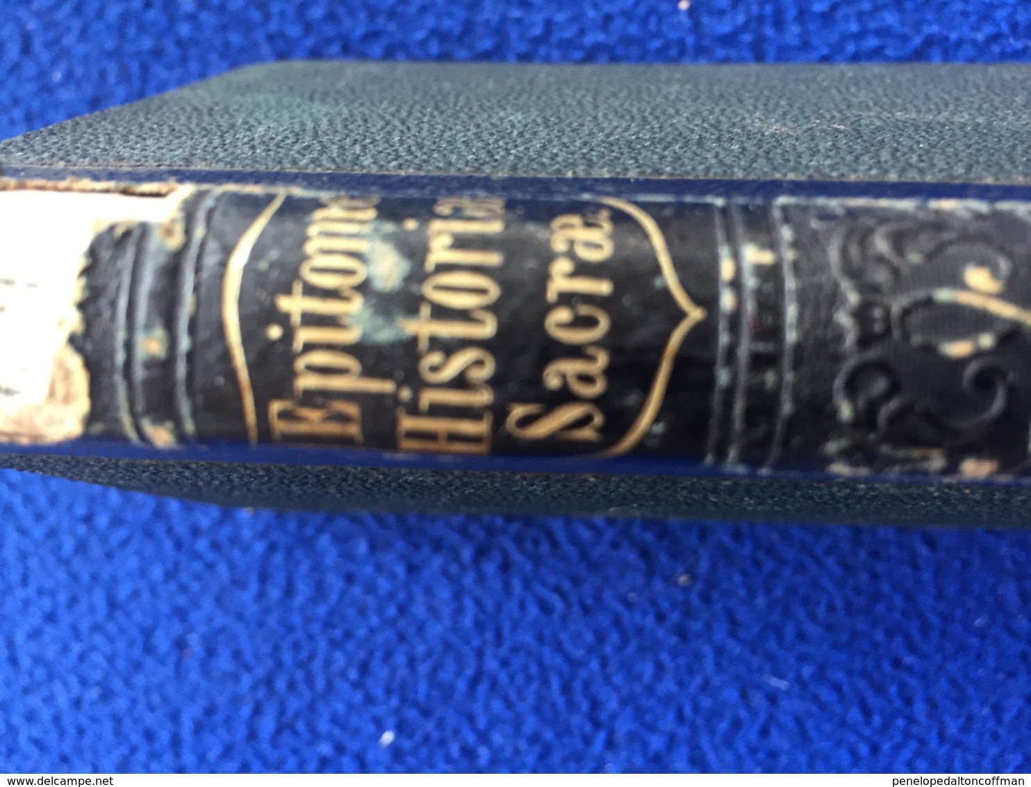 Epitome Historiae Sacrae By L'Homond Christianity Latin Dictionary, Pub. By E,H. Butler & Co. 1825 - Christianity, Bibles