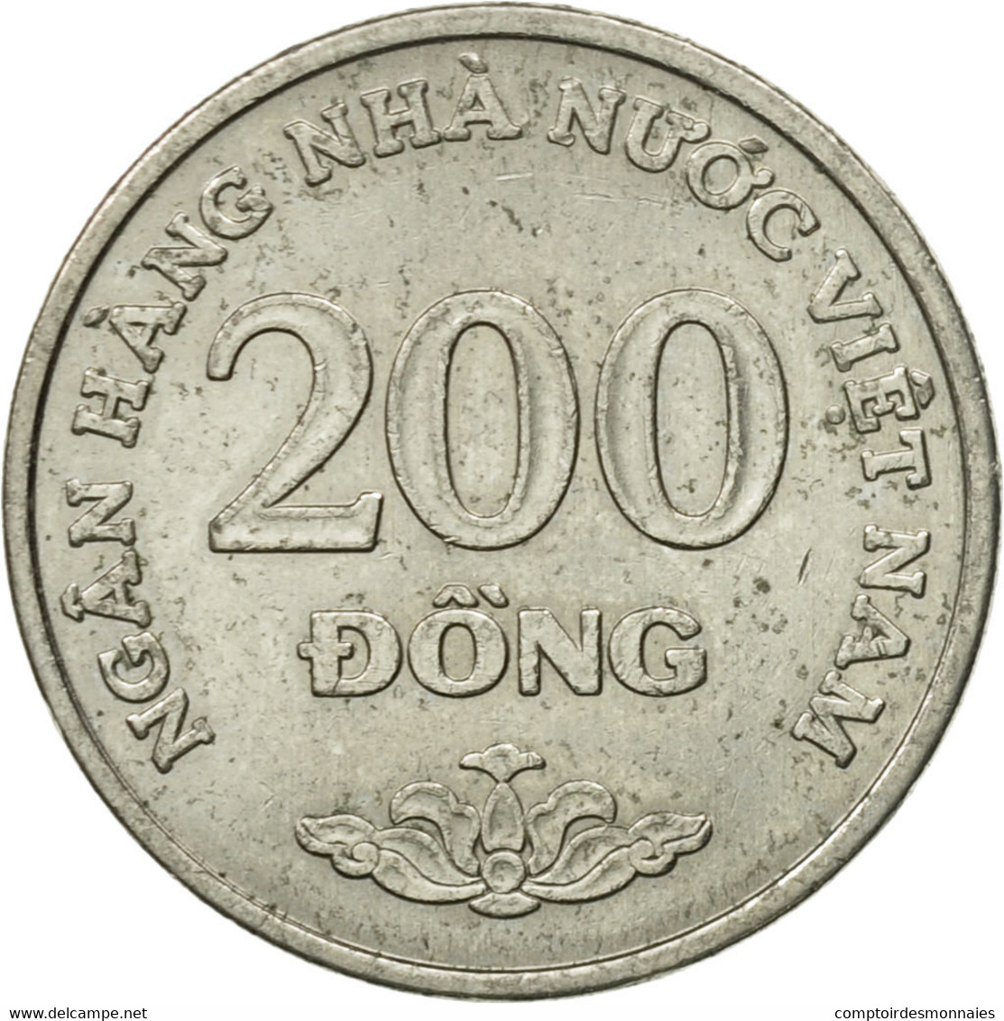 Monnaie, Viet Nam, SOCIALIST REPUBLIC, 200 Dông, 2003, Vantaa, TTB+, Nickel - Viêt-Nam