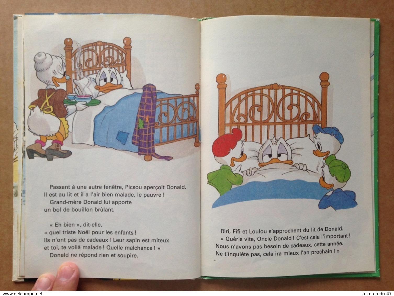 Disney - Mickey Club Du Livre - Conte De Noël Avec Picsou (1981) - Livres, BD, Revues