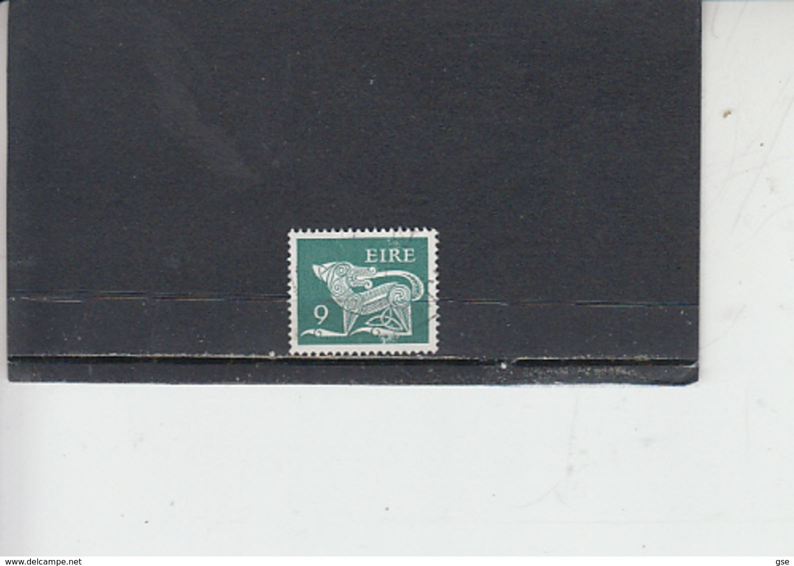 IRLANDA  1976 -  Unificato 349A°-  Animale Simbolico - Usati