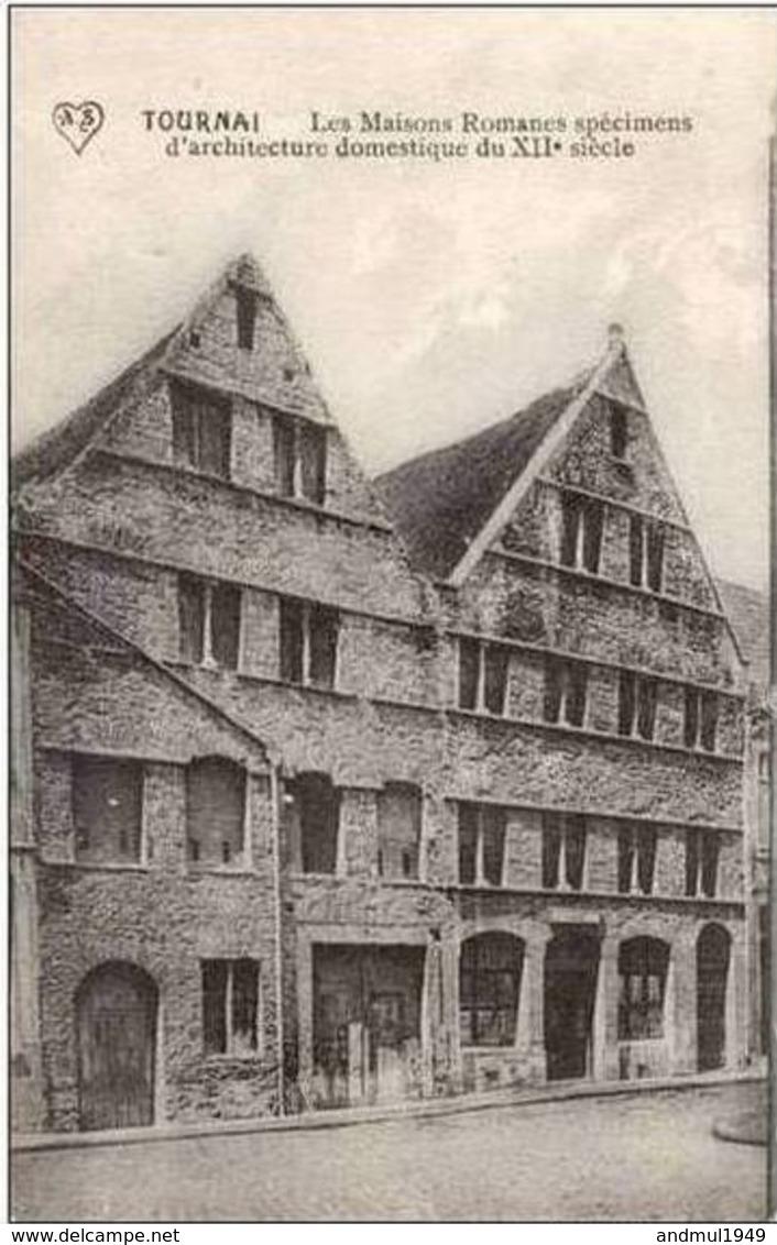 TOURNAI - Maisons Romanes - Oblitération De 1913 - Tournai