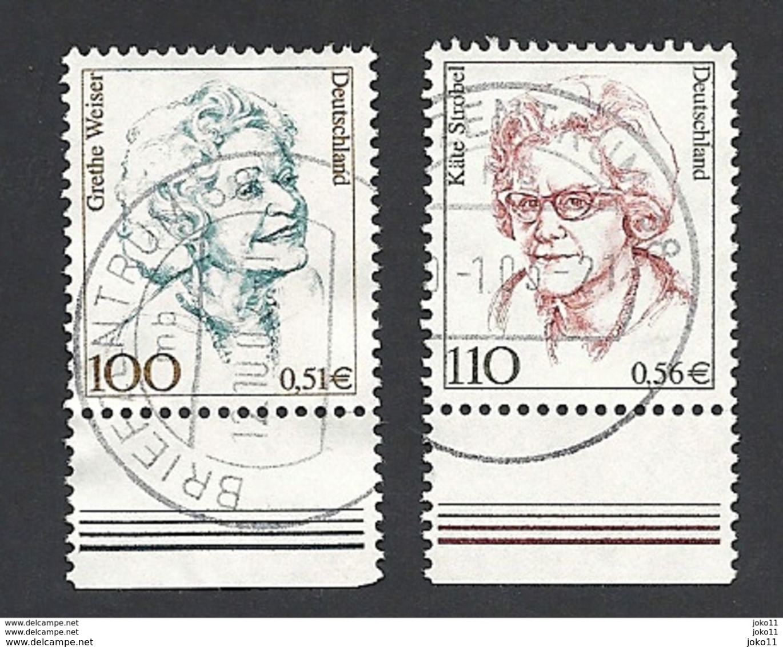 Deutschland, 2000, Mi.-Nr. 2149-2150, Gestempelt - BRD