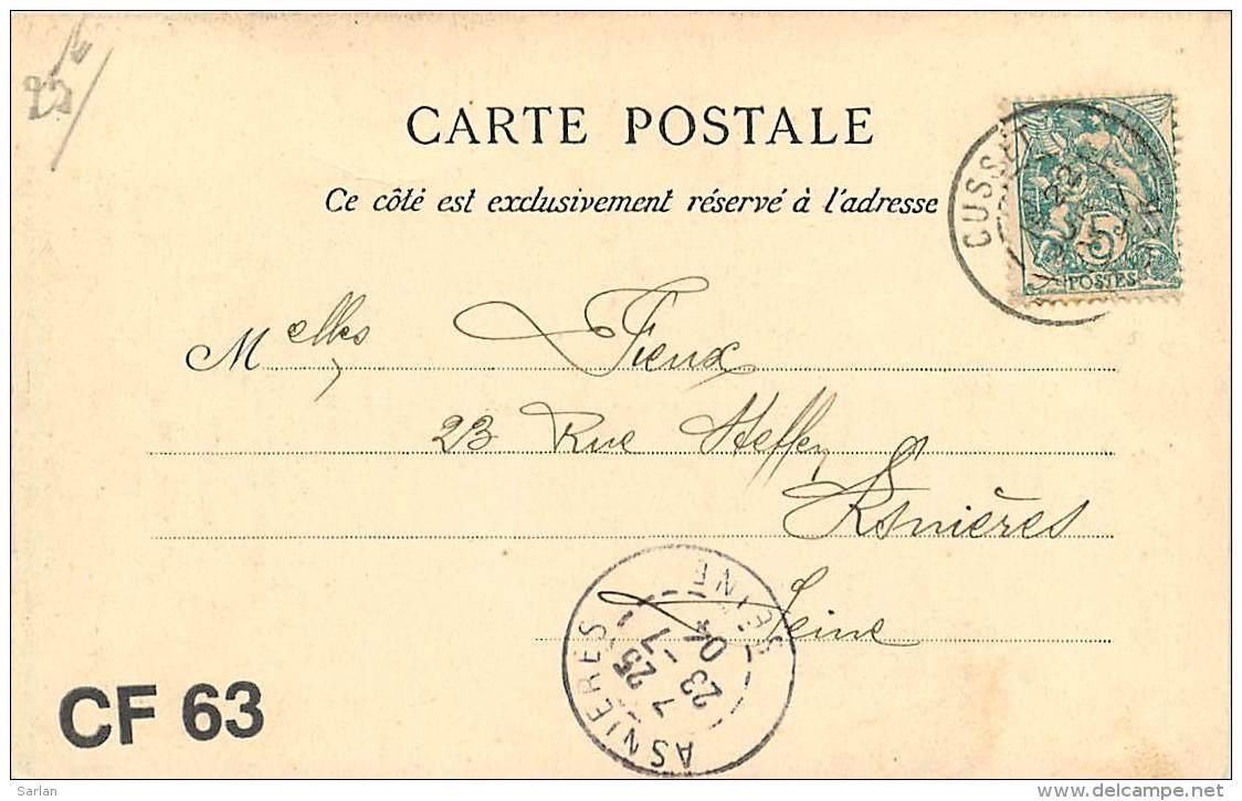03 , CUSSET , Une Rue , Attelage De Boeufs , CF2 * 361 54 - Frankrijk