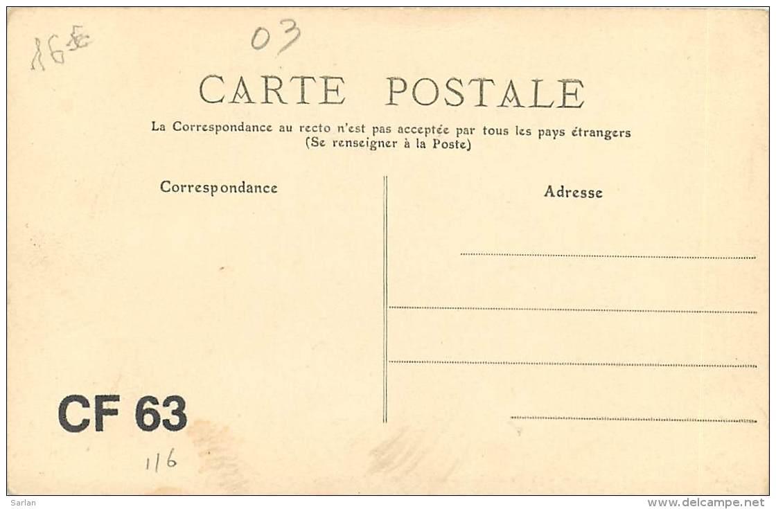 03 , VICHY , Emballage Des Bouteilles , Vérification Et étiquetage , CF * 364 84 - Vichy