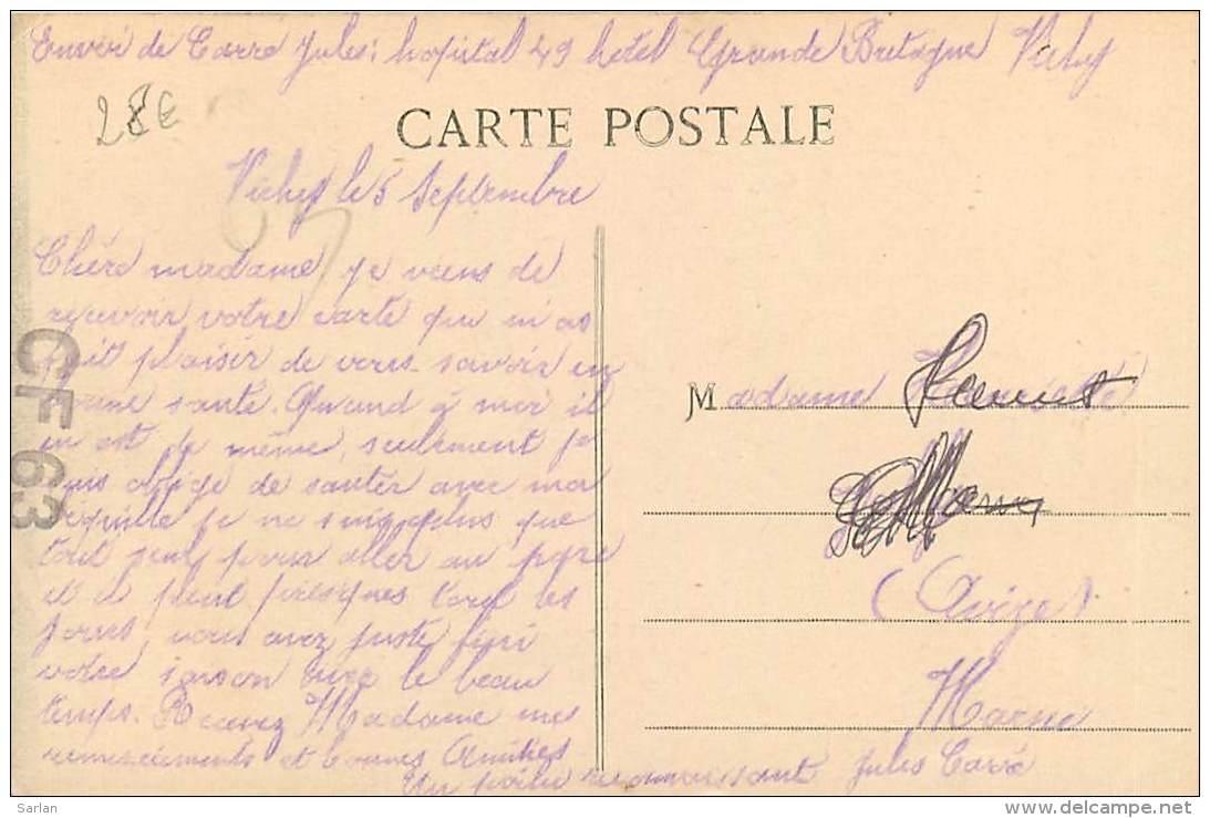 03 , VICHY , L'emballage Des Bouteilles , Cie Fermiere , CF * 364 89 - Vichy