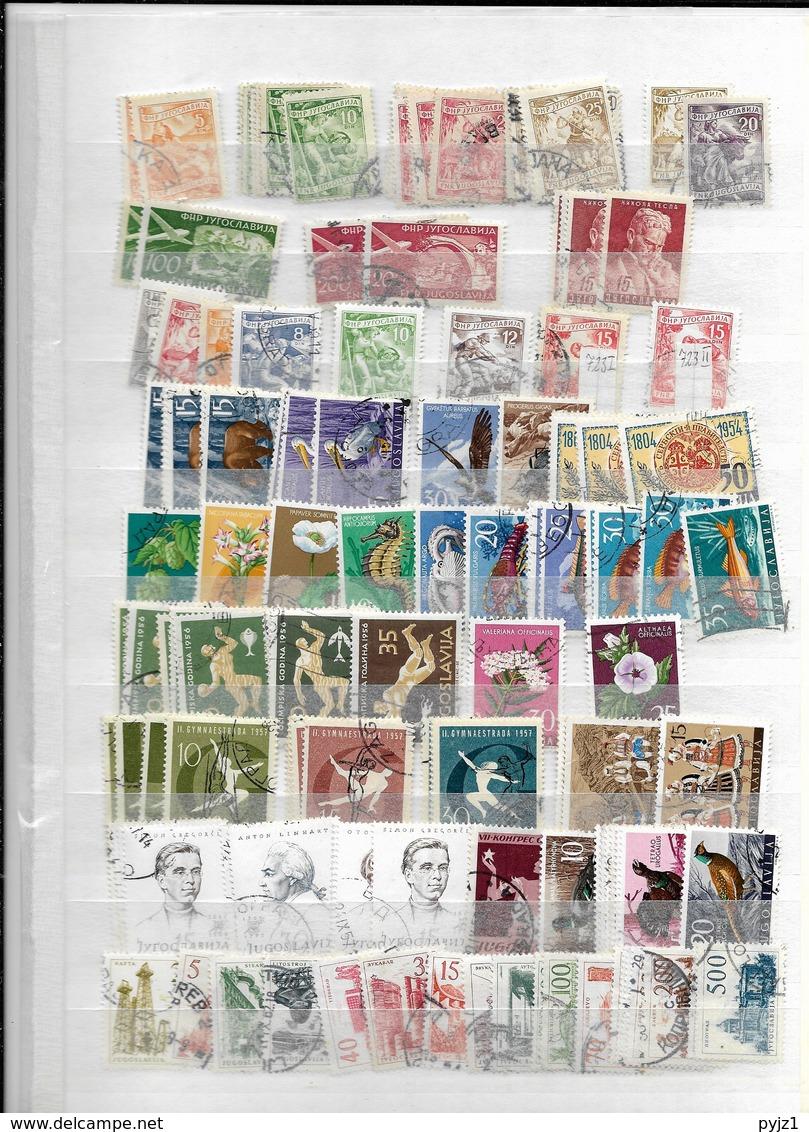 Yugoslavia USED  Many Stamps ! (13 Scans) - Postzegels
