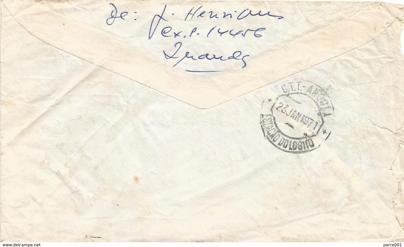 "Angola 1971 Luanda Meter Franking Pitney Bowes ""Automax"" Slogan Domestic Cover To Lobito - Angola"